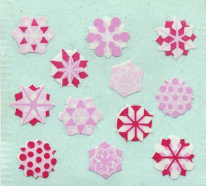 Pack of Paper Stickers - Snowflakes