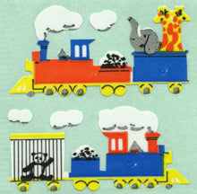 Load image into Gallery viewer, Pack of Paper Stickers - Animal Train