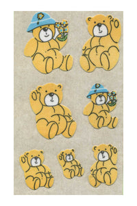 Maxi Furrie Stickers - Teddy Bears