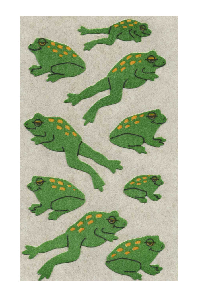 Maxi Furrie Stickers - Frogs