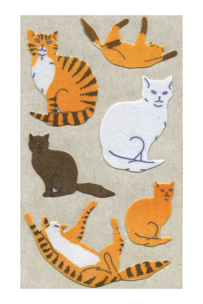 Maxi Furrie Stickers - Cats