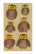 Load image into Gallery viewer, Maxi Stickers - Owls