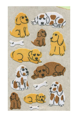 Maxi Furrie Stickers - Puppies