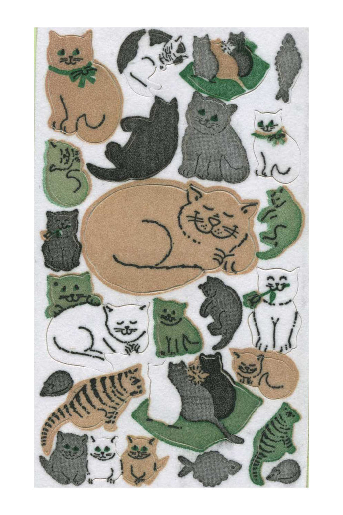 Maxi Furrie Stickers - Cats & Kittens