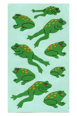 Maxi Paper Stickers - Frogs