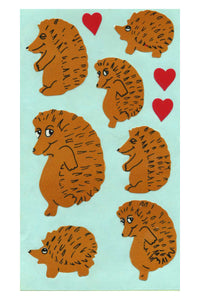 Maxi Paper Stickers - Hedgehogs
