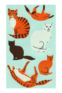Maxi Paper Stickers - Cats