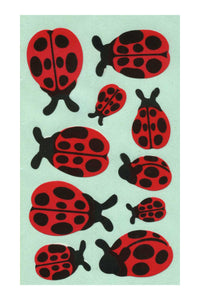 Maxi Paper Stickers - Ladybirds