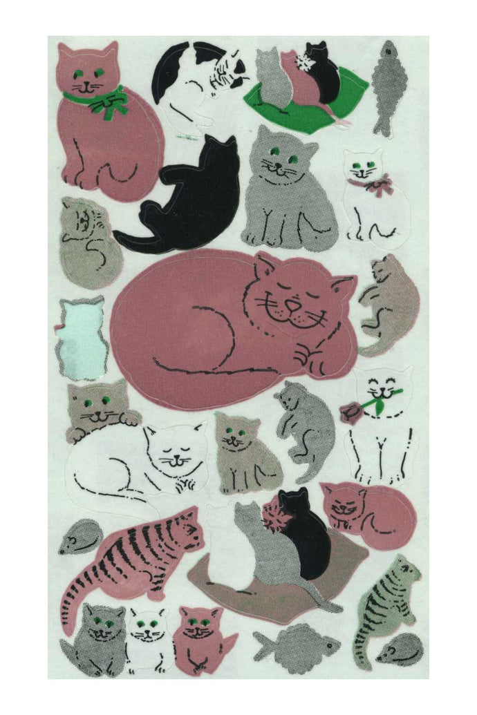 Maxi Paper Stickers - Cats and Kittens
