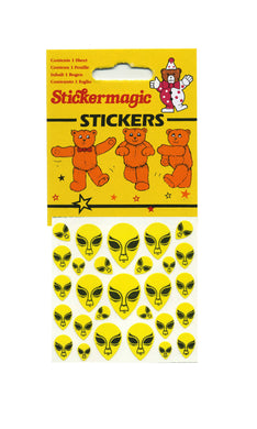 Maxi Paper Stickers - Aliens