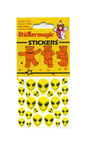 Load image into Gallery viewer, Maxi Stickers - Smiley Aliens