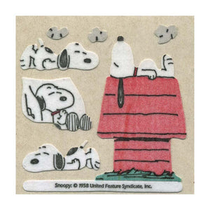 Maxi Stickers - Snoopy On Kennel
