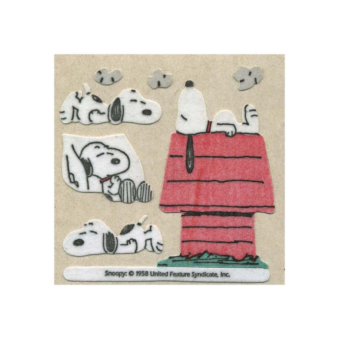 Maxi Furrie Stickers - Snoopy On Kennel