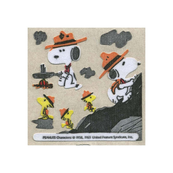 Maxi Furrie Stickers - Snoopy the Scout