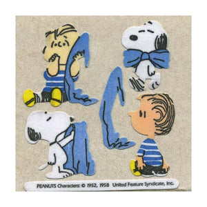 Maxi Stickers - Snoopy & Linus with Blanket