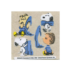 Maxi Furrie Stickers - Snoopy & Linus with Blanket