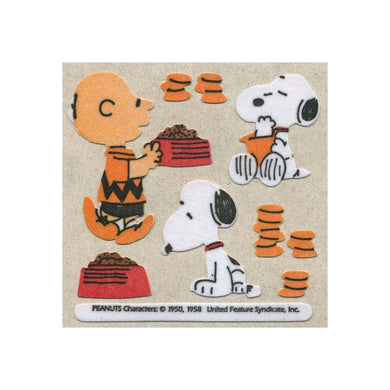 Maxi Furrie Stickers - Snoopy & Charlie Brown
