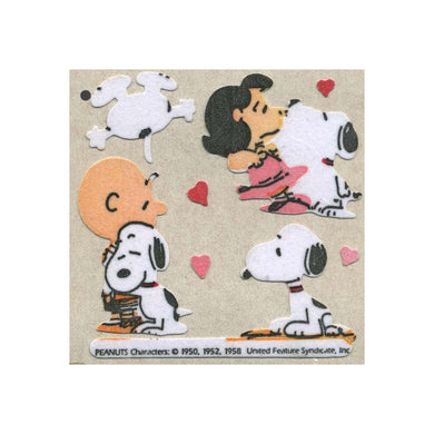 Maxi Furrie Stickers - Snoopy, Charlie Brown and Lucy