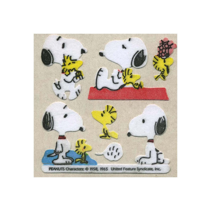 Maxi Furrie Stickers - Snoopy & Woodstock