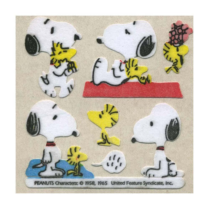 Maxi Stickers - Snoopy & Woodstock