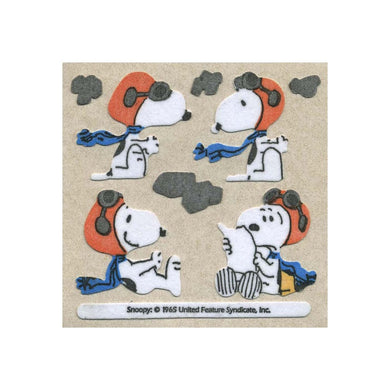 Maxi Furrie Stickers - Snoopy with Flying Gear
