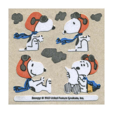 Maxi Stickers - Snoopy with Flying Gear