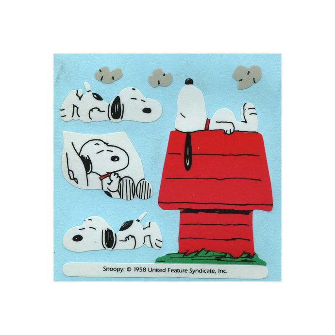 Maxi Paper Stickers - Snoopy On Kennel