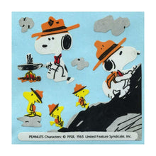 Load image into Gallery viewer, Maxi Stickers - Snoopy the Scout
