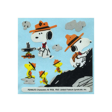 Maxi Paper Stickers - Snoopy the Scout