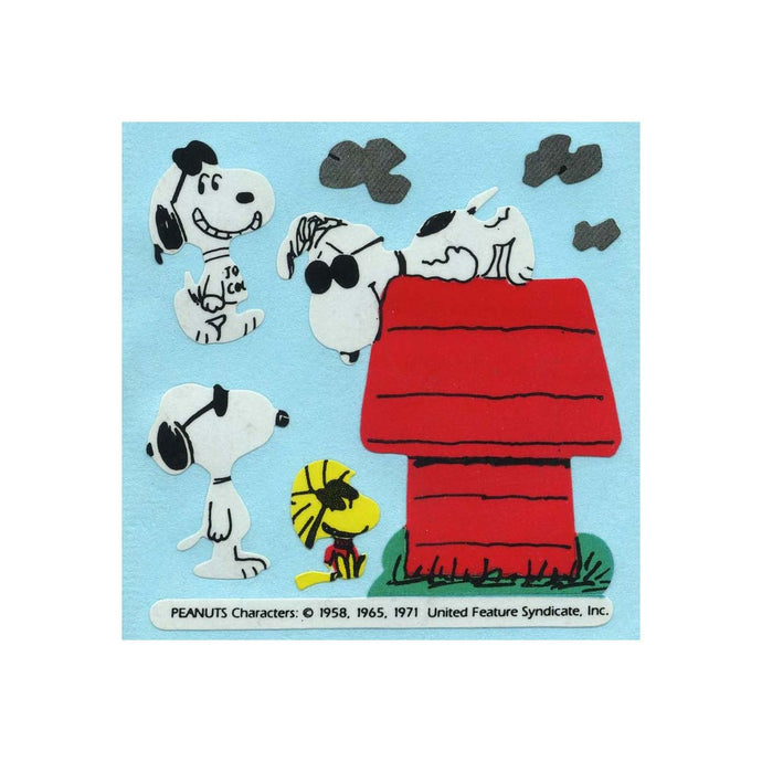 Maxi Paper Stickers - Joe Cool Snoopy