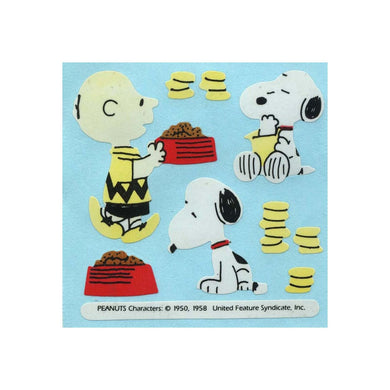 Maxi Paper Stickers - Snoopy & Charlie Brown