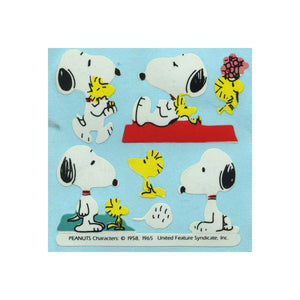 Maxi Paper Stickers - Snoopy & Woodstock