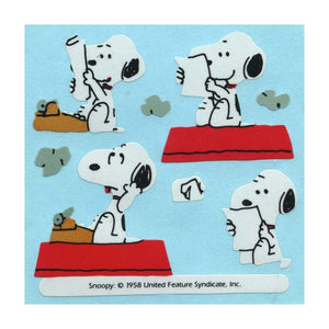 Maxi Stickers - Snoopy & Typewriter