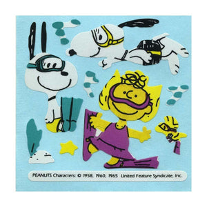 Maxi Stickers - Snoopy & Sally Diving