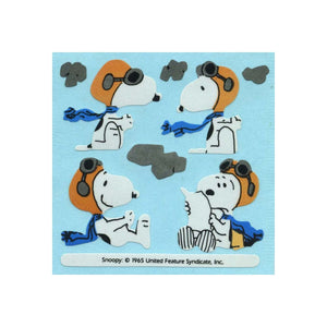 Maxi Paper Stickers - Snoopy with Flying Gear