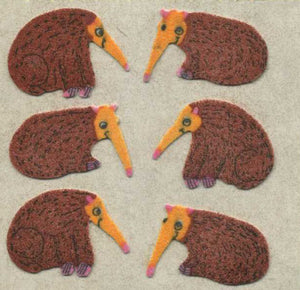 Pack of Furrie Stickers - Anteater