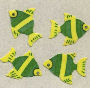 Pack of Furrie Stickers - Angel Fish