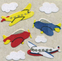 Load image into Gallery viewer, Pack of Furrie Stickers - Aeroplanes