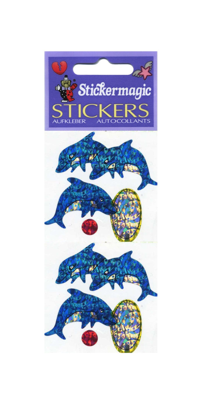 Pack of Prismatic Stickers - Dolphins