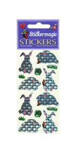 Pack of Prismatic Stickers - Rabbits