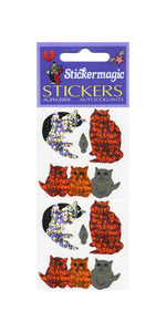 Pack of Prismatic Stickers - Sparkly Cats