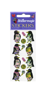 Pack of Prismatic Stickers - Penguins