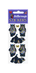Pack of Prismatic Stickers - Pandas