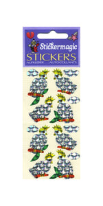 Pack of Prismatic Stickers - Cockatoos