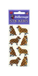 Pack of Prismatic Stickers - Collies