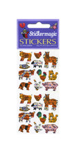 Load image into Gallery viewer, Pack of Prismatic Stickers - Micro Farmyard Friends