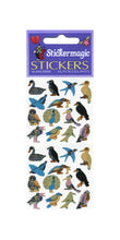 Load image into Gallery viewer, Pack of Prismatic Stickers - Micro Birds