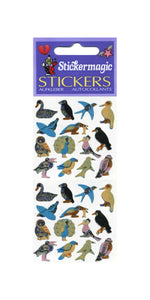Pack of Prismatic Stickers - Micro Birds