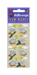 Pack of Furrie Stickers - Cockatoos