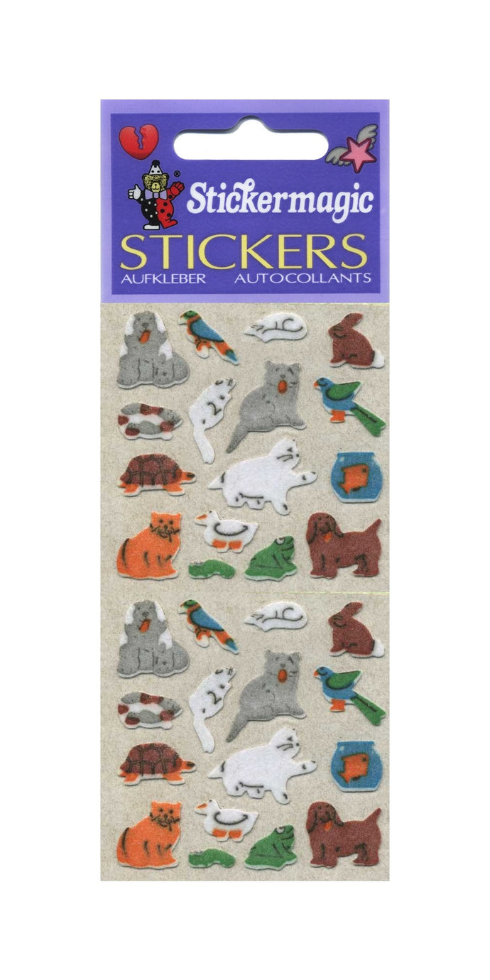 Pack of Furrie Stickers - Micro Pets